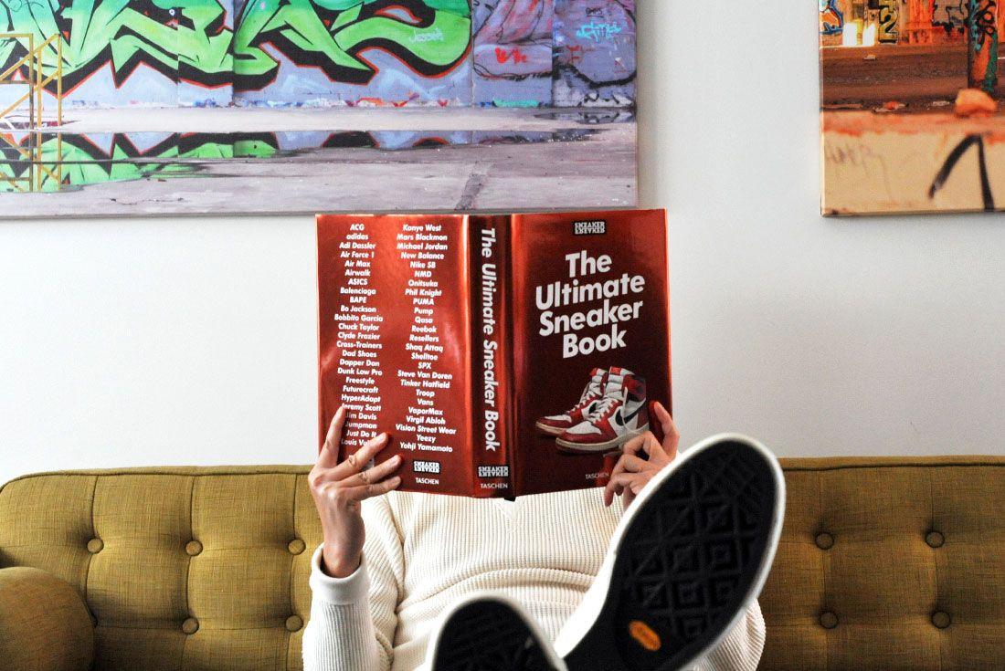 Sneaker Freaker The Ultimate Sneaker Book Open