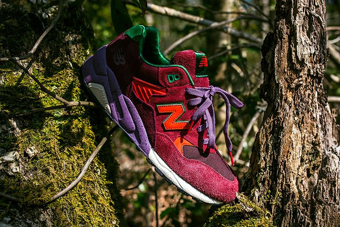 Packer X New Balance 580 8