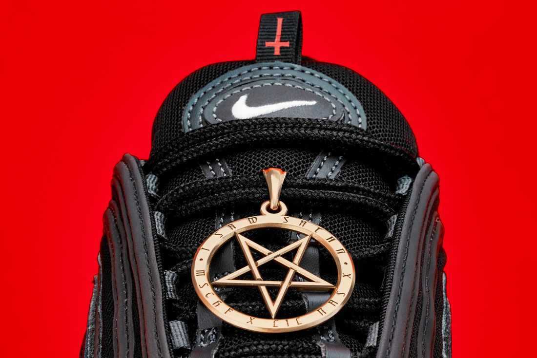 MSCHF satan shoe
