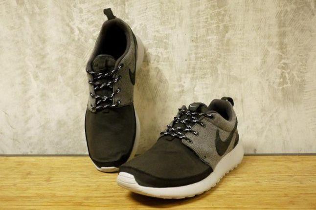 Nike Roshe Run Premium Nrg Grey Pair 1