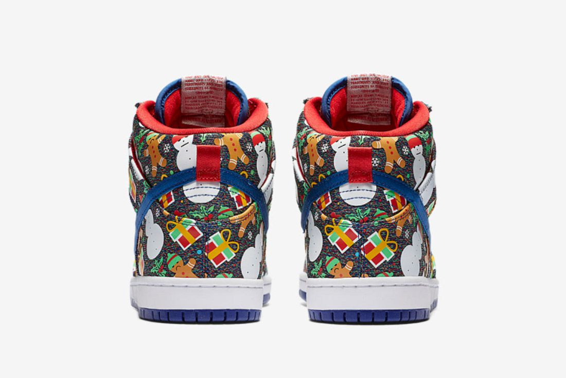 Conceptsnike Sb Ugly Christmas Sweater Dunk 3
