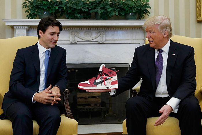 Trump Canadian Sneaker Smuggler 1