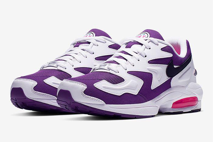 Nike Air Max2 Light Purple Dual