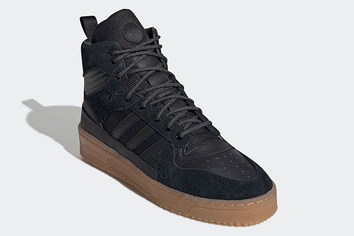 Adidas Rivalry Tr Black Gum Ee8186 Front Angle