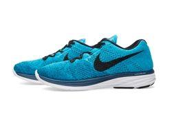Nike Flyknit Lunar 3 Brave Blue Thumb