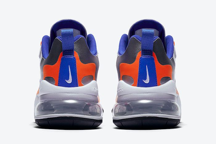 Nike Air Max 270 React Knicks Cw3094 100 Heel