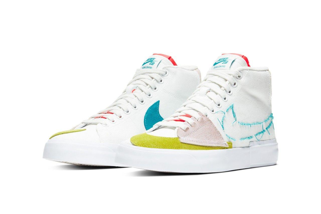 Nike SB Blazer Mid Angled
