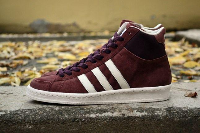 Adidas Originals Ao Hook Shot Burgundy Side 1