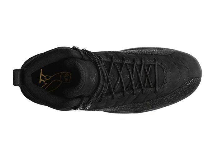 Drake X Air Jordan 12 Ovo Black Stingray3