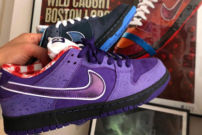 Concepts Nike Sb Dunk Purple Lobster First Look 1