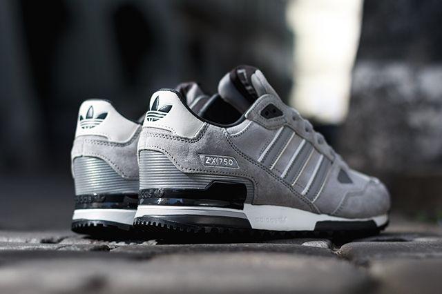 Adidas Zx750 Solid Grey 4