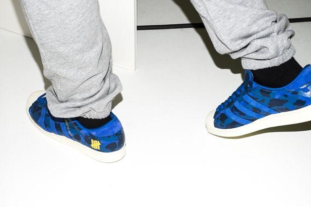 Bape X Undftd X Adidas Consortium Superstar 80 2