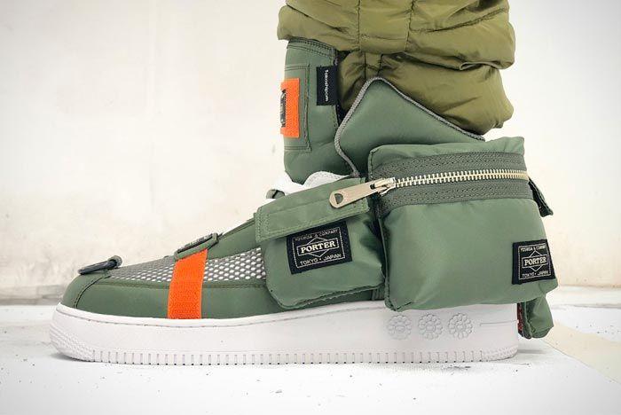 Murakami Custom Sneakers Porter