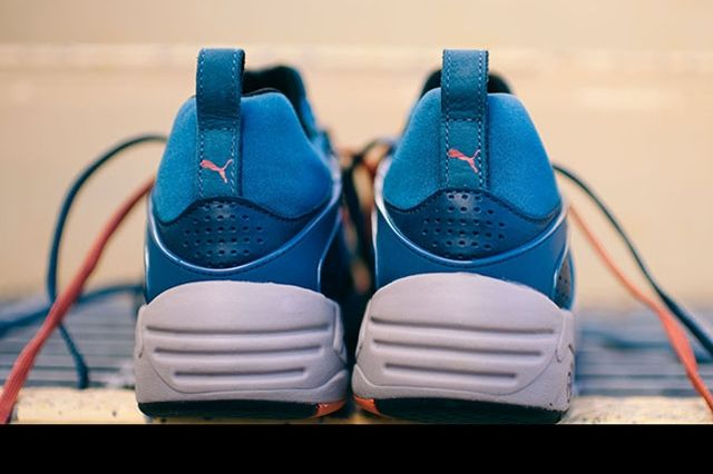 Puma Blaze Of Glory Leather Legion Blue 5