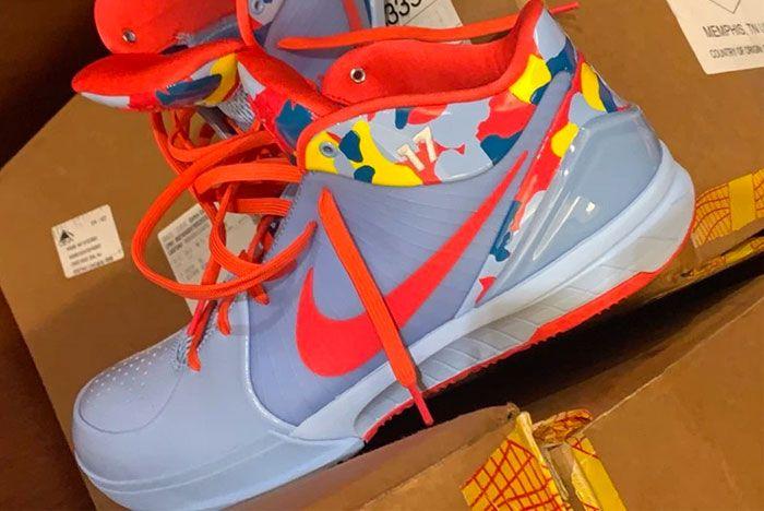 Nike Zoom Kobe 4 Protro Camo Pe