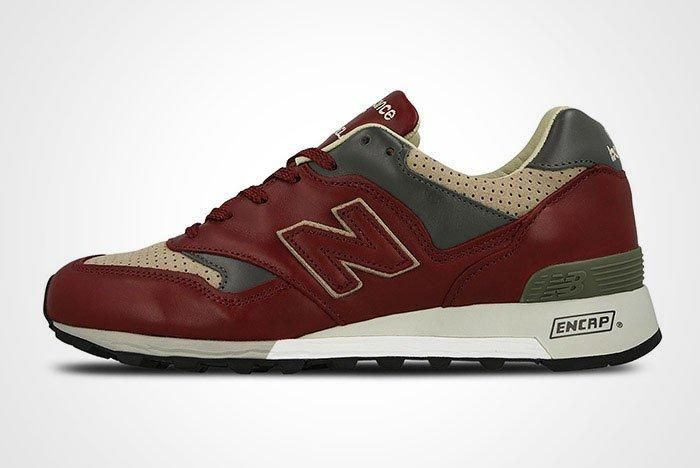 New Balance 577 Made In England Burgundy Thumb