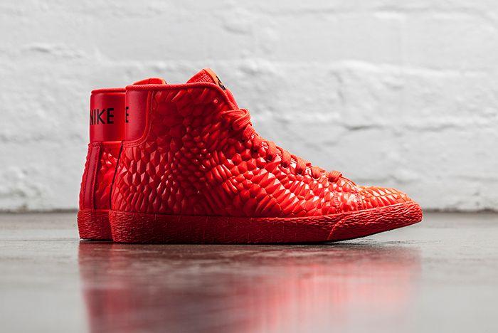 Nike Blazer Mid Dmb Bright Crimson 1