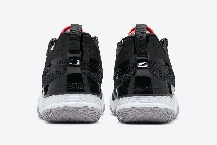 Jordan Westbrook One Take Black Cement Heels