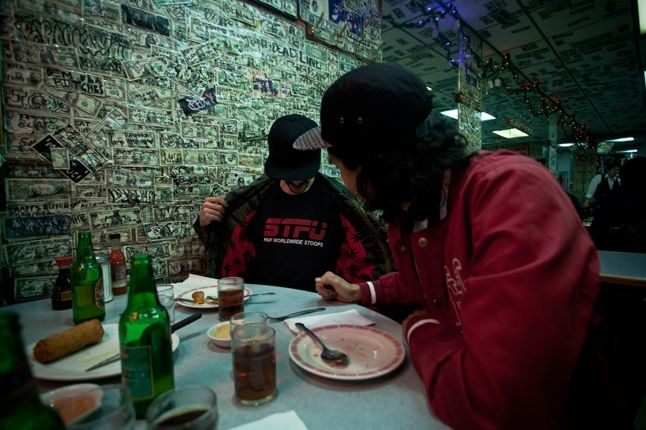 Huf Spring 13 D1 Lookbook Brian Kelley Dinner Money Wall 1