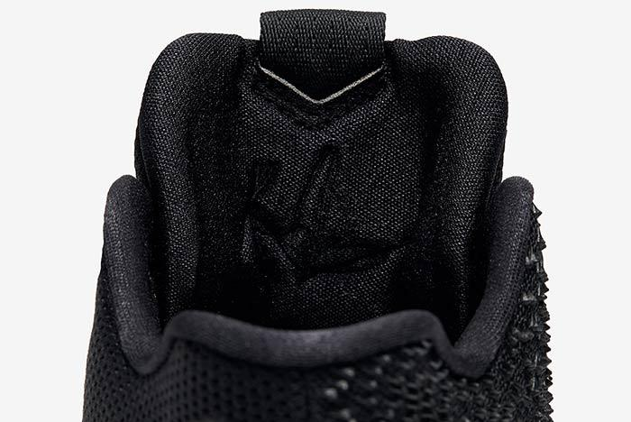 Nike Kyrie 3 Triple Black 8