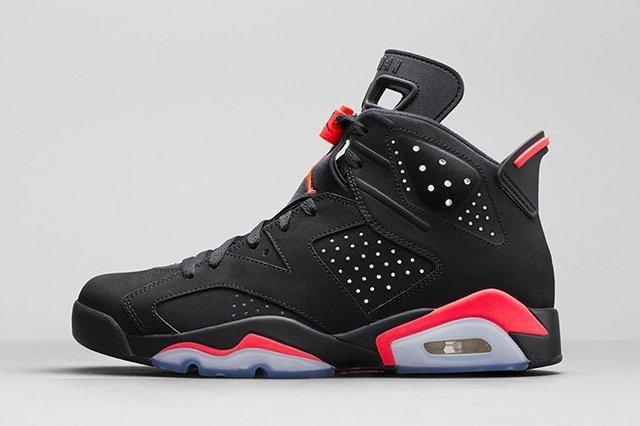 Air Jordan 6 Black Infrared Official Images 2