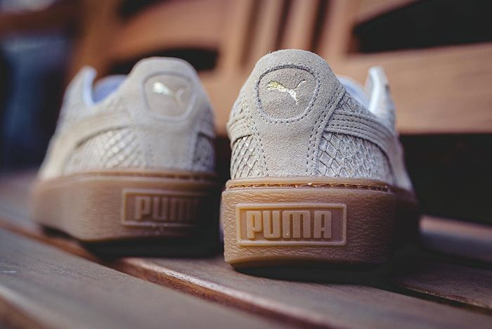Puma Platform Exotic Skins Natural Vachetta 8