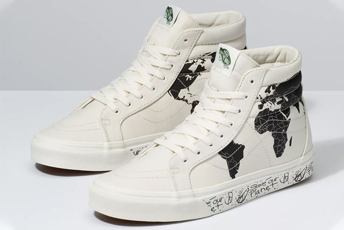 Vans Sk8 Hi Save Our Planet Black