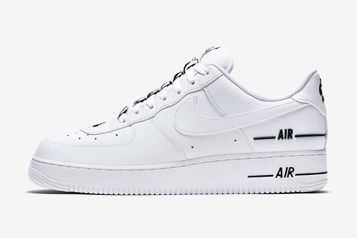 Nike Air Force 1 Low Double Air Cj1379 100 Release Date Official