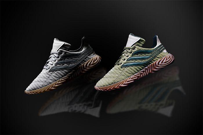 Adidas Sobakov Green Grey 1