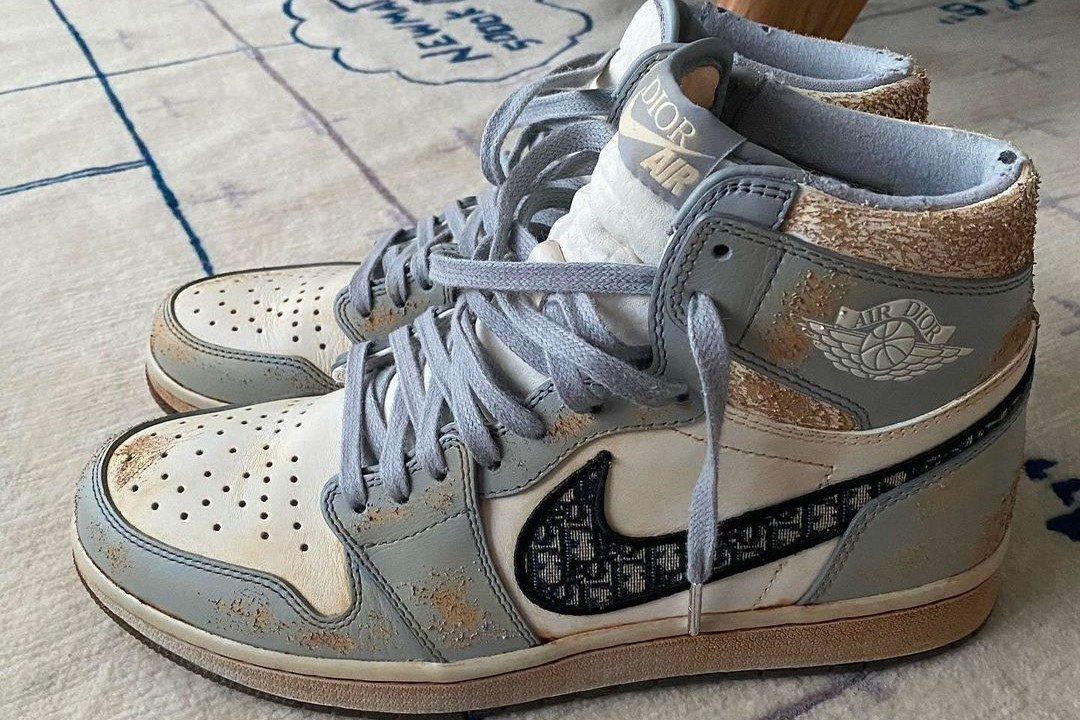 Air Jordan 1 Dior Distressed
