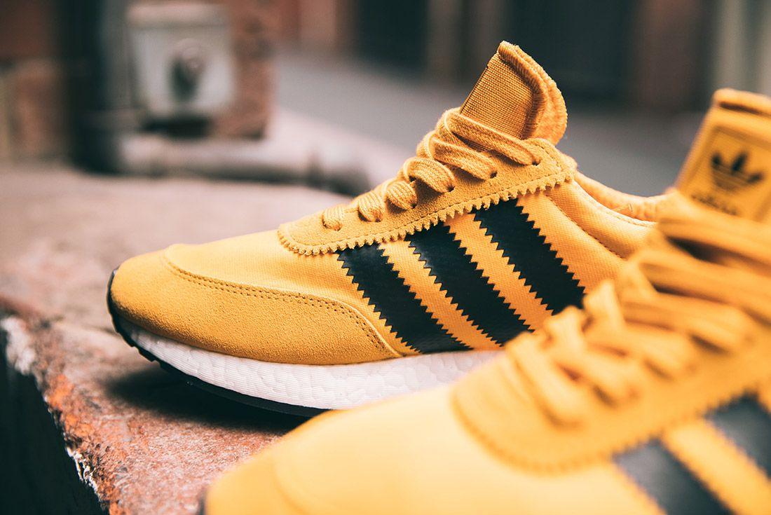 Adidas Iniki Runner Goldenrod Yellow 4
