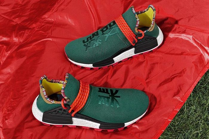 Pharrell Adidas Hu Nmd Inspiration Green Asia Exclusive 1