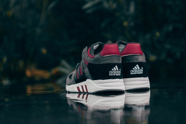 Adidas Eqt Running Guidance Support 93 Core Black Rust Red 4