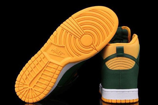 Nike Dunk High University Of Oregon Outsole 1