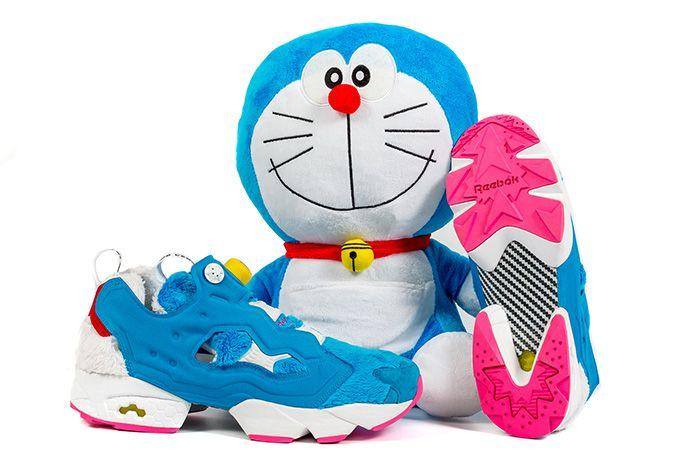 Atmos X Packer X Reebok Instapump Fury Doraemon 4