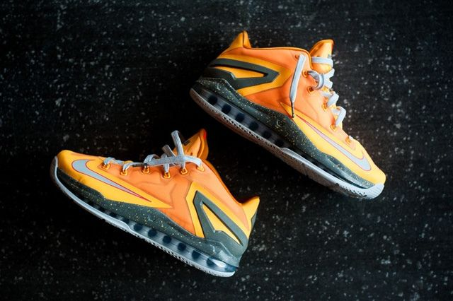 Nike Lebron 11 Low Atomic Mango Bump 1