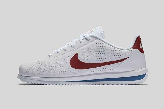 Nike Cortez Ultra Moire Og White Varsity Blue Red 3