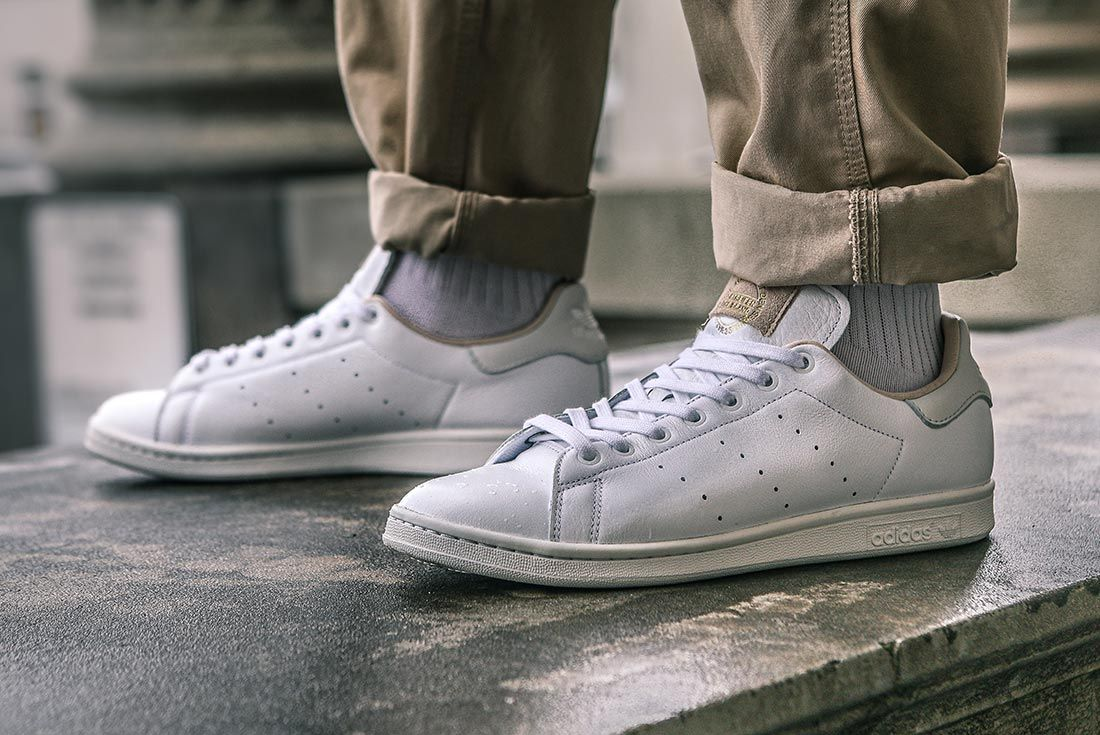 Adidas Stan Smith Home Of Classics On Foot Angle
