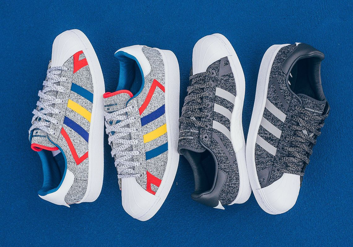 White Mountainerring Adidas Superstar Boost Available Now 1