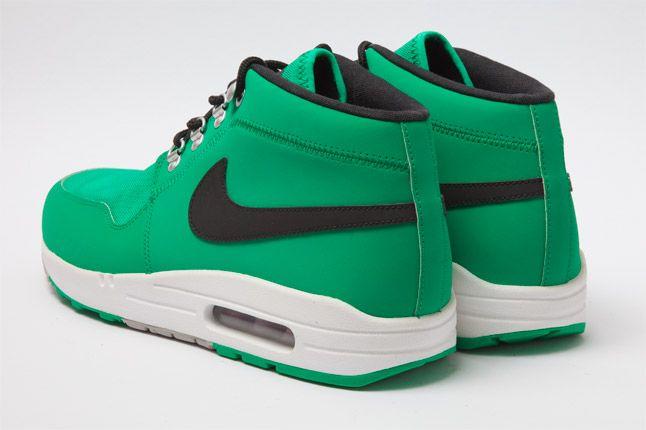 Nike Wardour Max 1 Txt Stadium Green Heel 1
