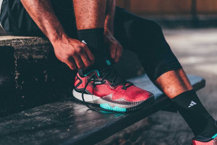 Adidas Crazylight Ghost Pepper