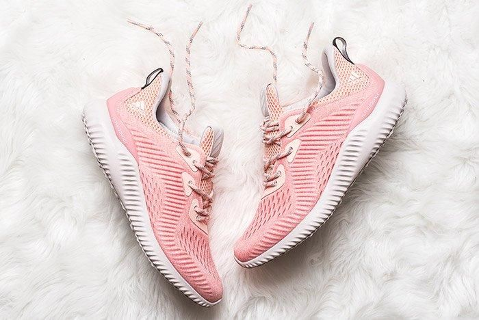 Adidas Alphabounce Pink Womens 8
