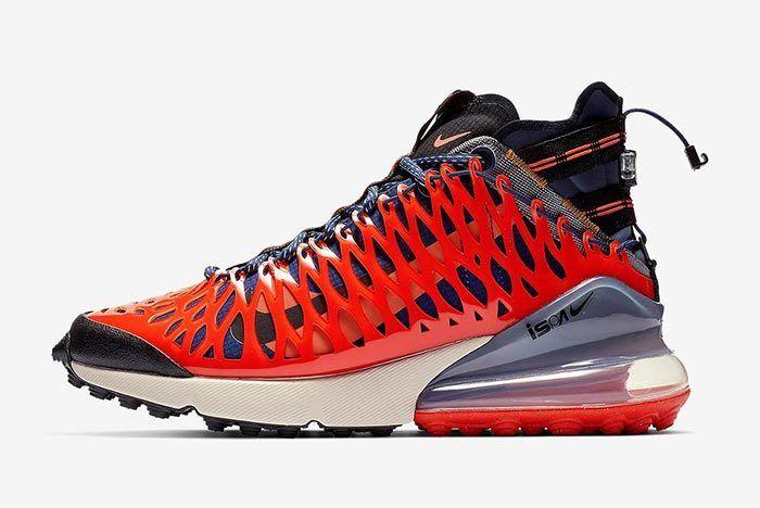 Nike Ispa Air Max 270 Terra Orange 2