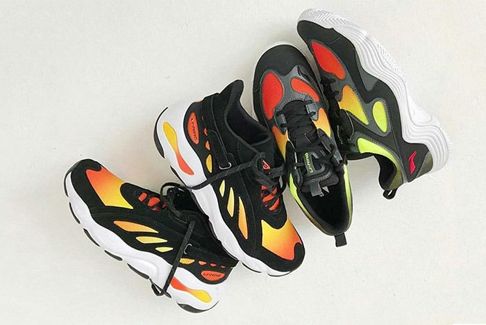 Li Ning Butterfly Retro 2018 Yeezy Sneaker Freaker 2