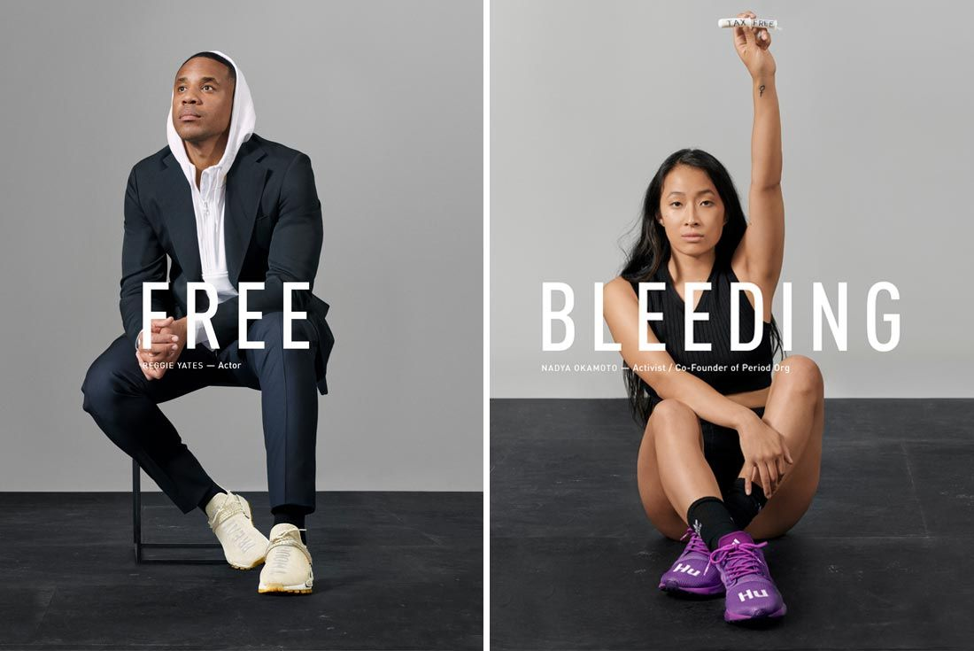Adidas Now Is Our Time Campaign Free Bleeding
