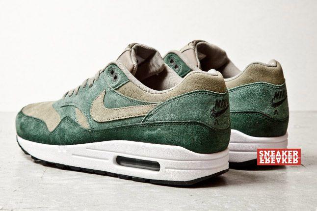 Nike Air Max 1 Suede Grn 4 1