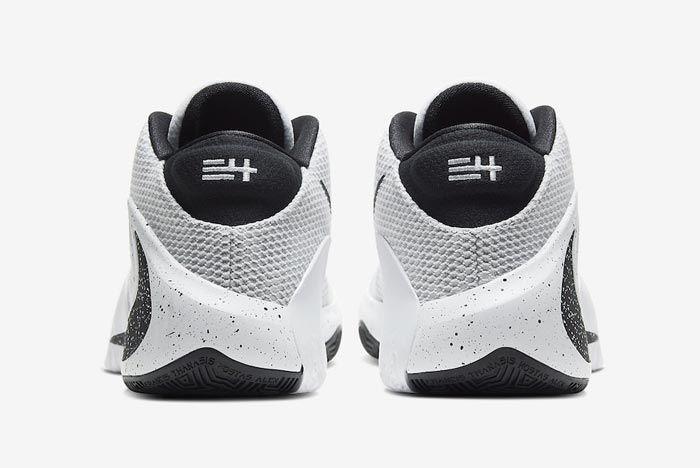 Nike Zoom Freak 1 Oreo Heels