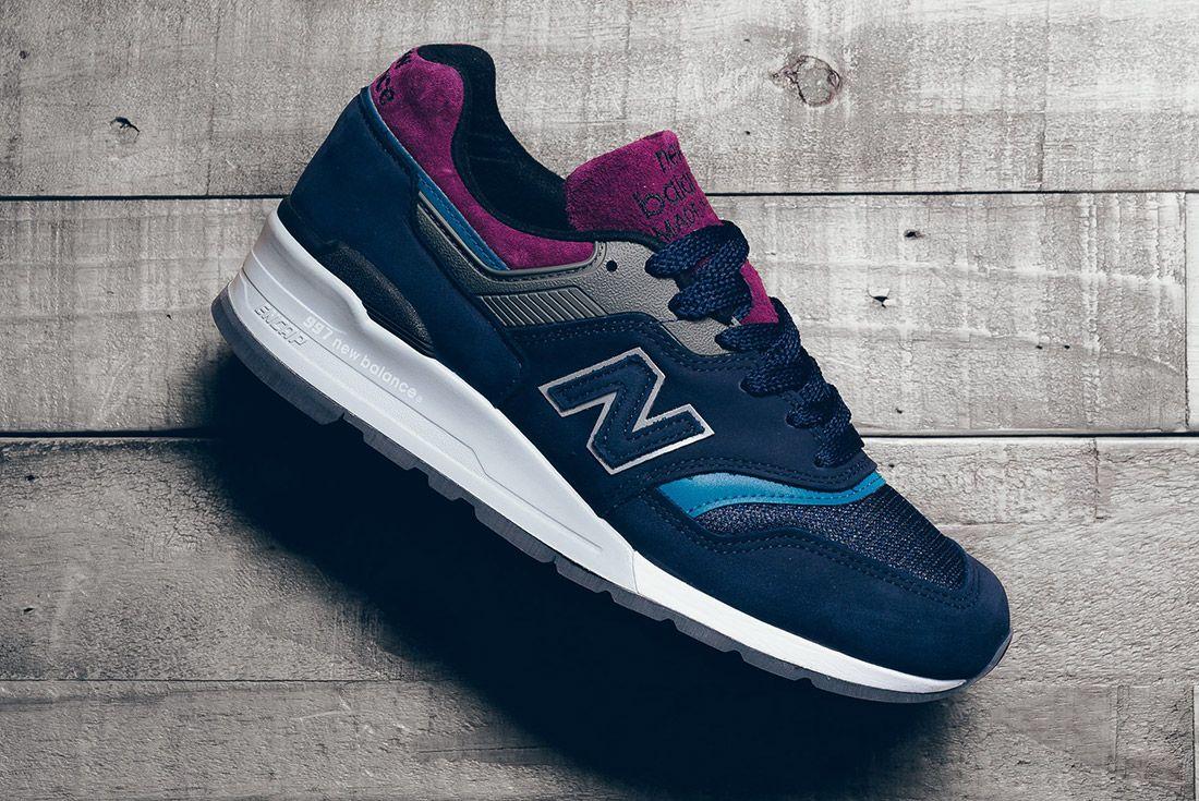 New Balance 997 Ptb Navy Grey 2