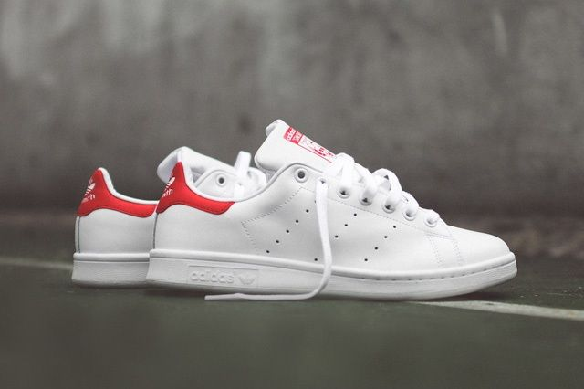 Adidas Originals Stan Smith Og White Red 1