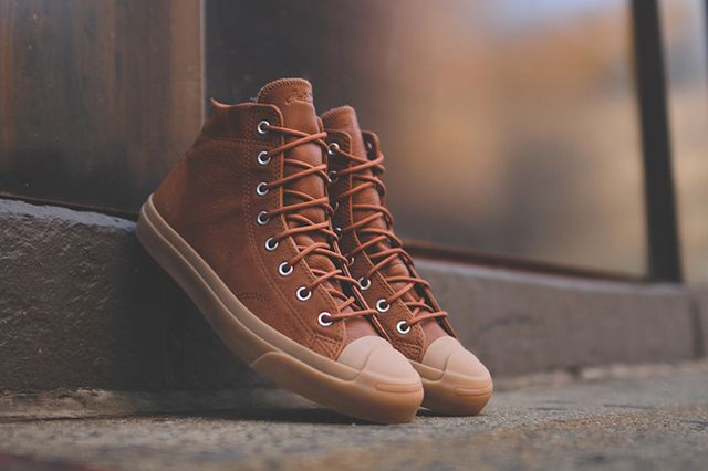 Converse Jack Purcell Jack Mid Brown